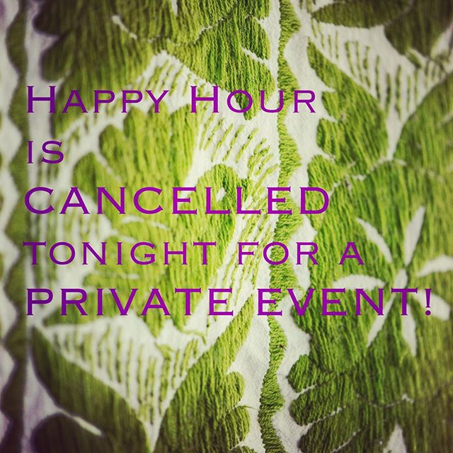 No Happy Hour tonight friends! We have an event in the Red Room. Patio and white room open to make your margarita dreams come true! #doñatomás #patiodining #margaritas #mexicanfood #oakland