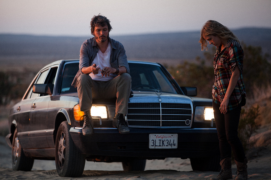 Dominik Tiefenthaler on the set of Nowhere. Photo by Daniel Alanis