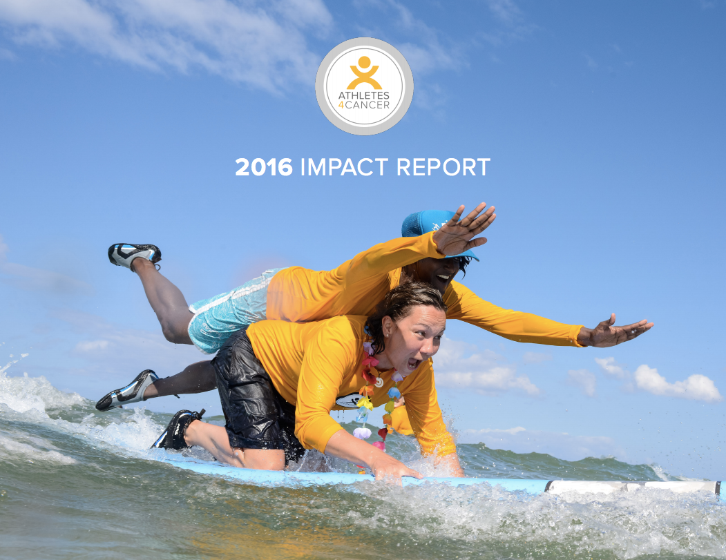 Athletes4Cancer-2016Impact-Report