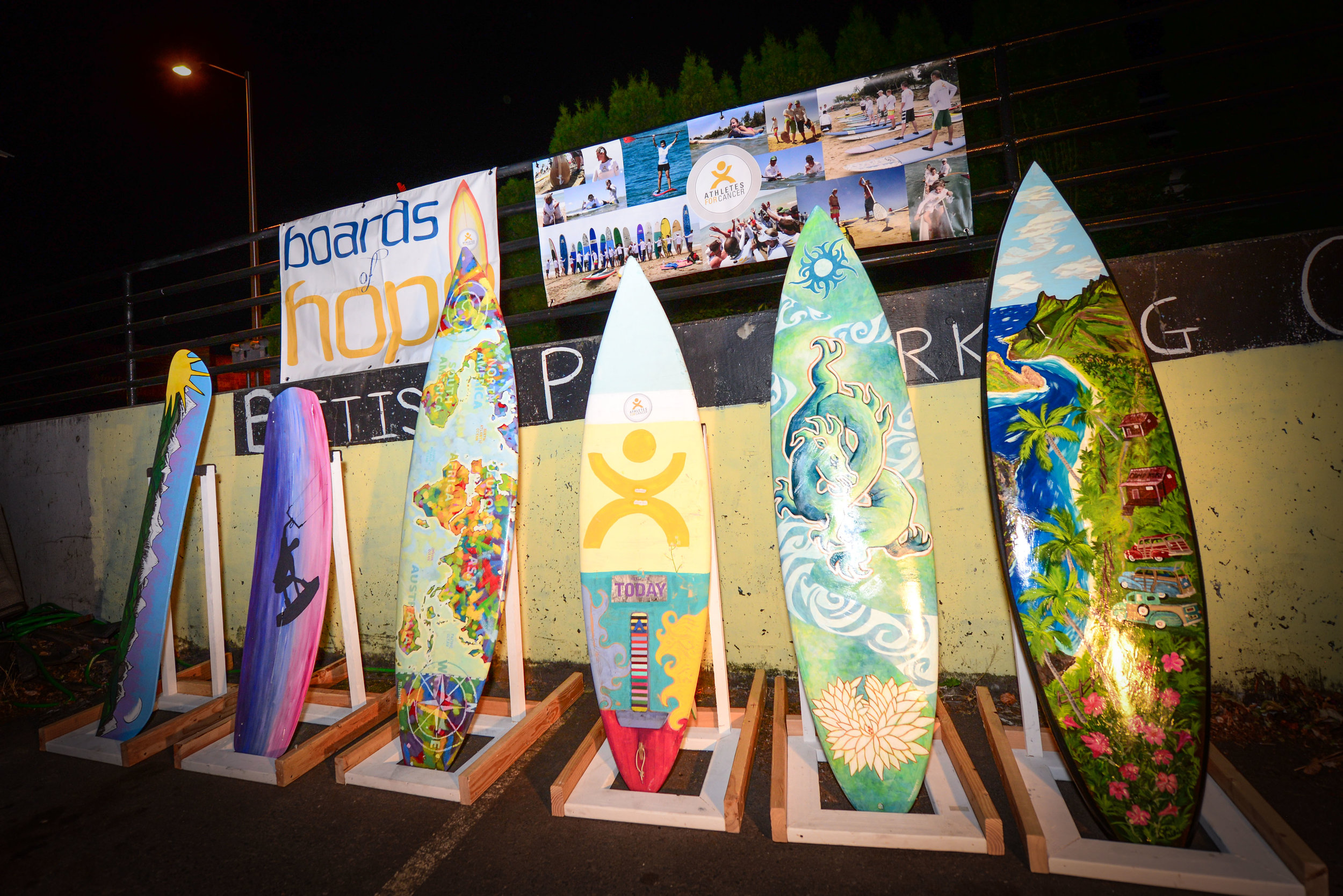 BOARDS OF HOPE AUCTION - Turn a board — skateboard, snowboard, kiteboard, skimboard, surfboard—into a true work of art.