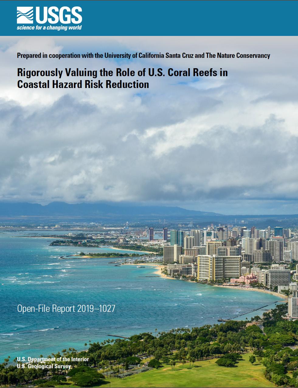 Urban Waikiki and the surrounding coral reefs. -