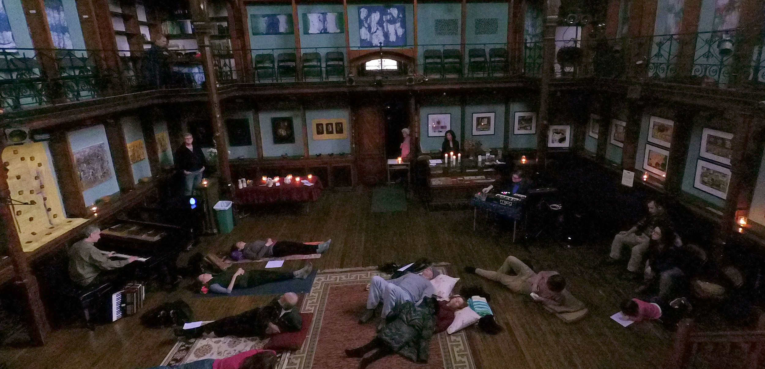 Sound/Peace performance at The Howland Cultural Center in Beacon, NY on November 19, 2017