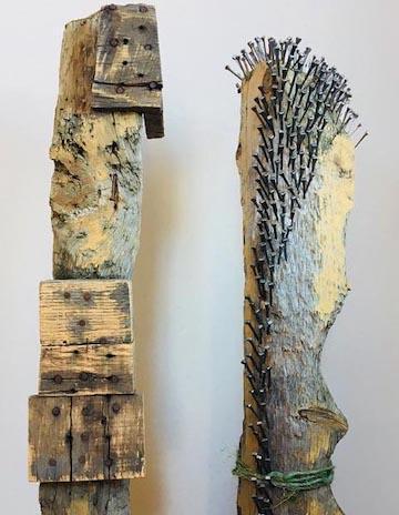 Totems, Heidi Lanino 2018