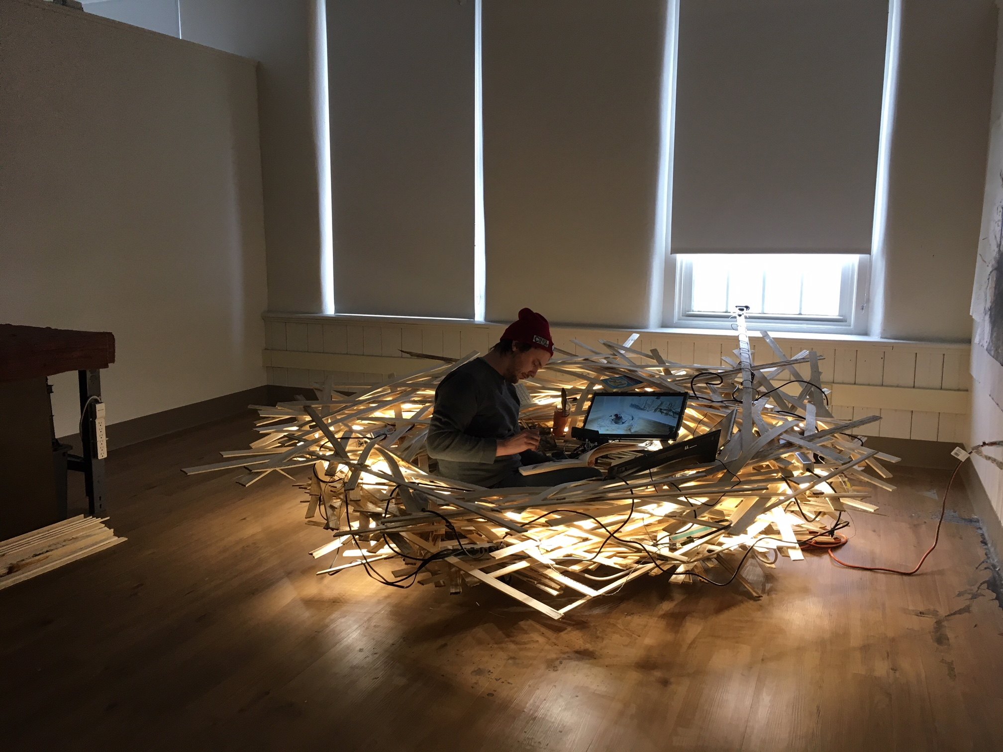 Kirby Mill Nest Performance, 2019, Chad Uehlein, Photo: Janet Pritchard
