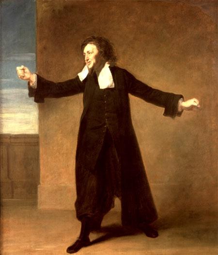 Charles Macklin as Shylock in Shakespeare's  The Merchant of Venice , Covent Garden, 1767-1768 Johann Zoffany, The Holburne Museum
