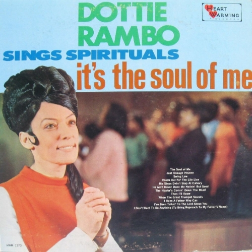DOTTIE RAMBO SINGS SPIRITUALS  It's The Soul Of Me 1968