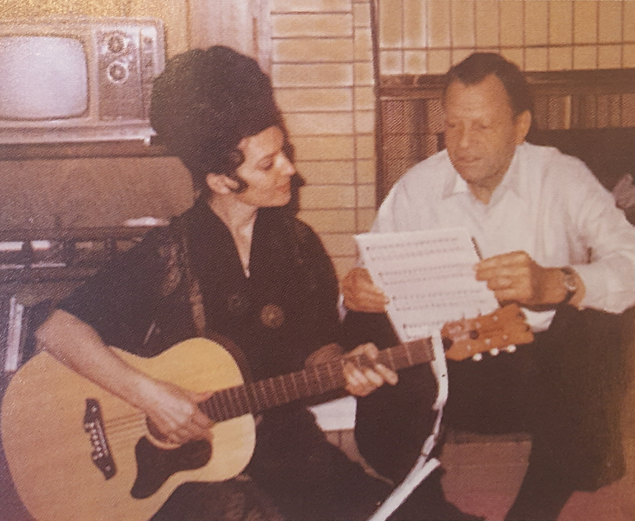 Dottie and Jimmie Davis 1960s