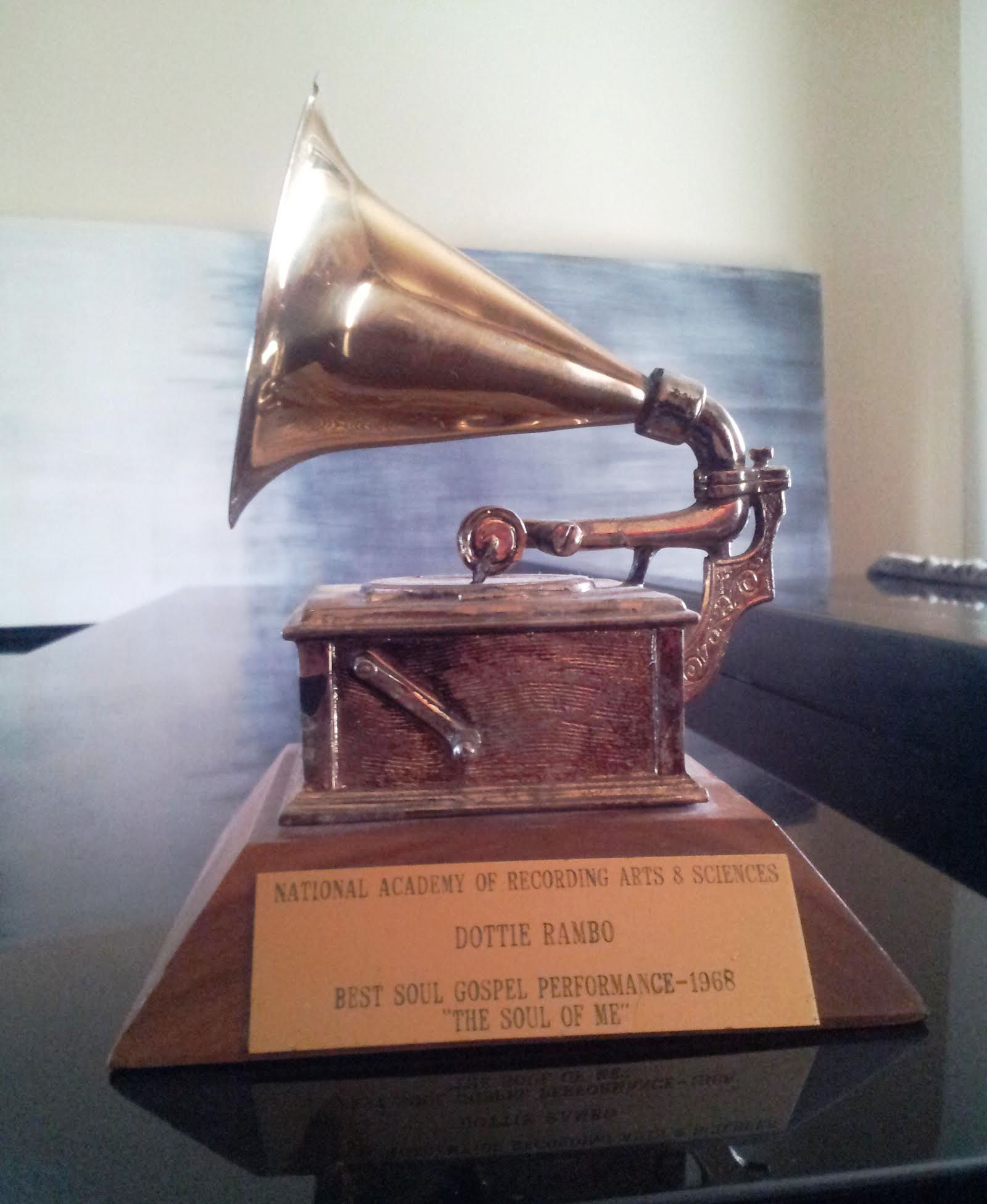 Dottie's GRAMMY Award 1968