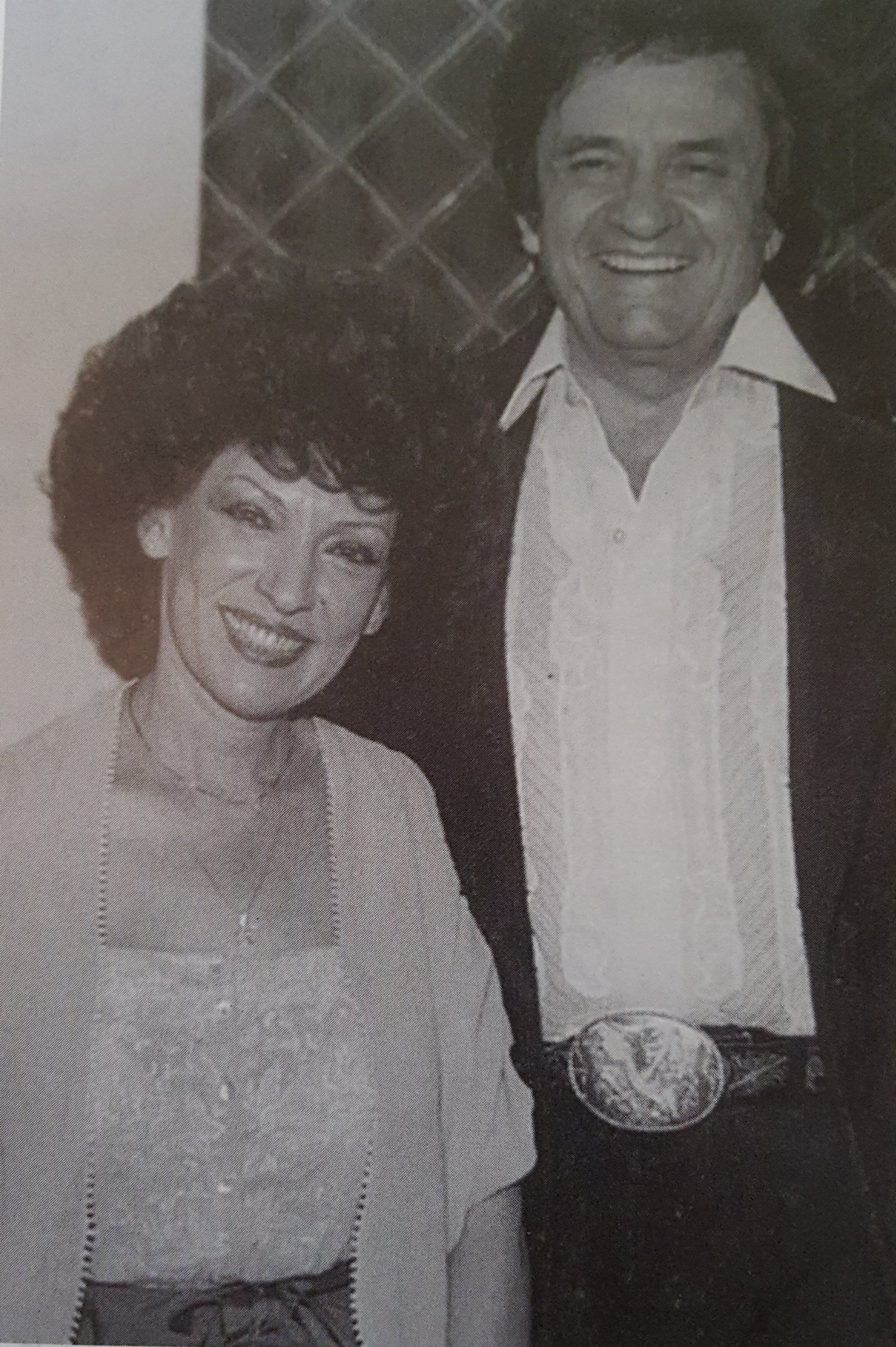 Dottie and Johnny Cash 1983