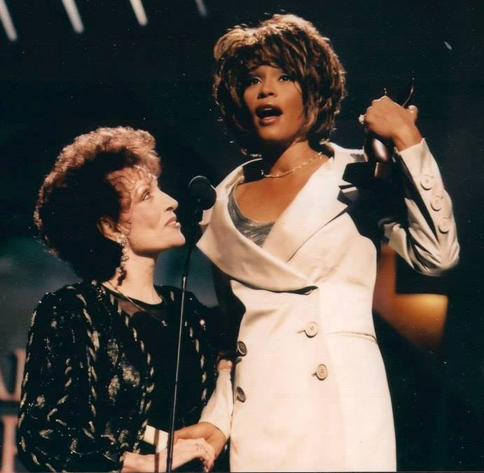 Dottie and Whitney Houston Dove Awards 1998