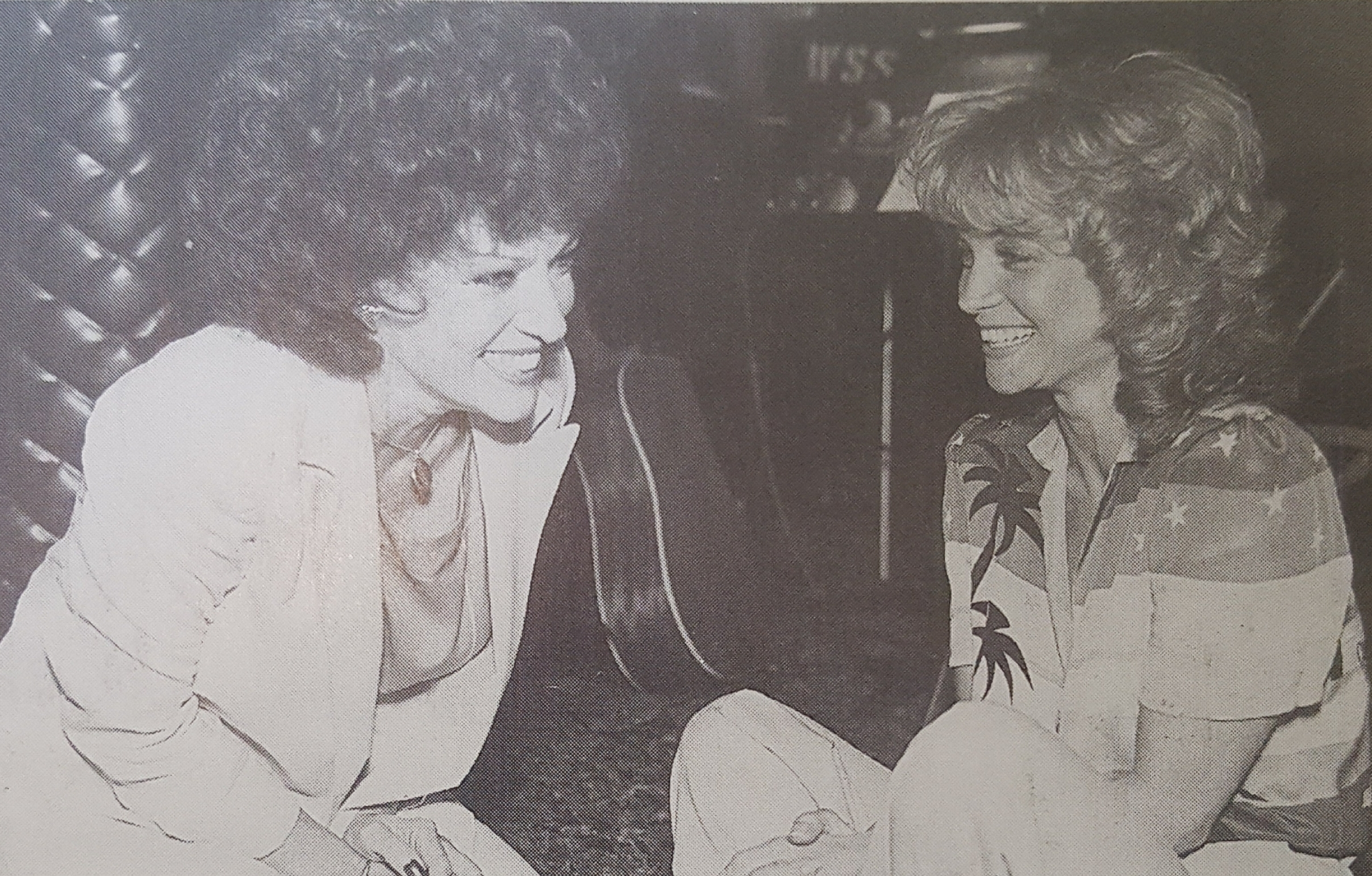 Dottie and Barbara Mandrell 1980s