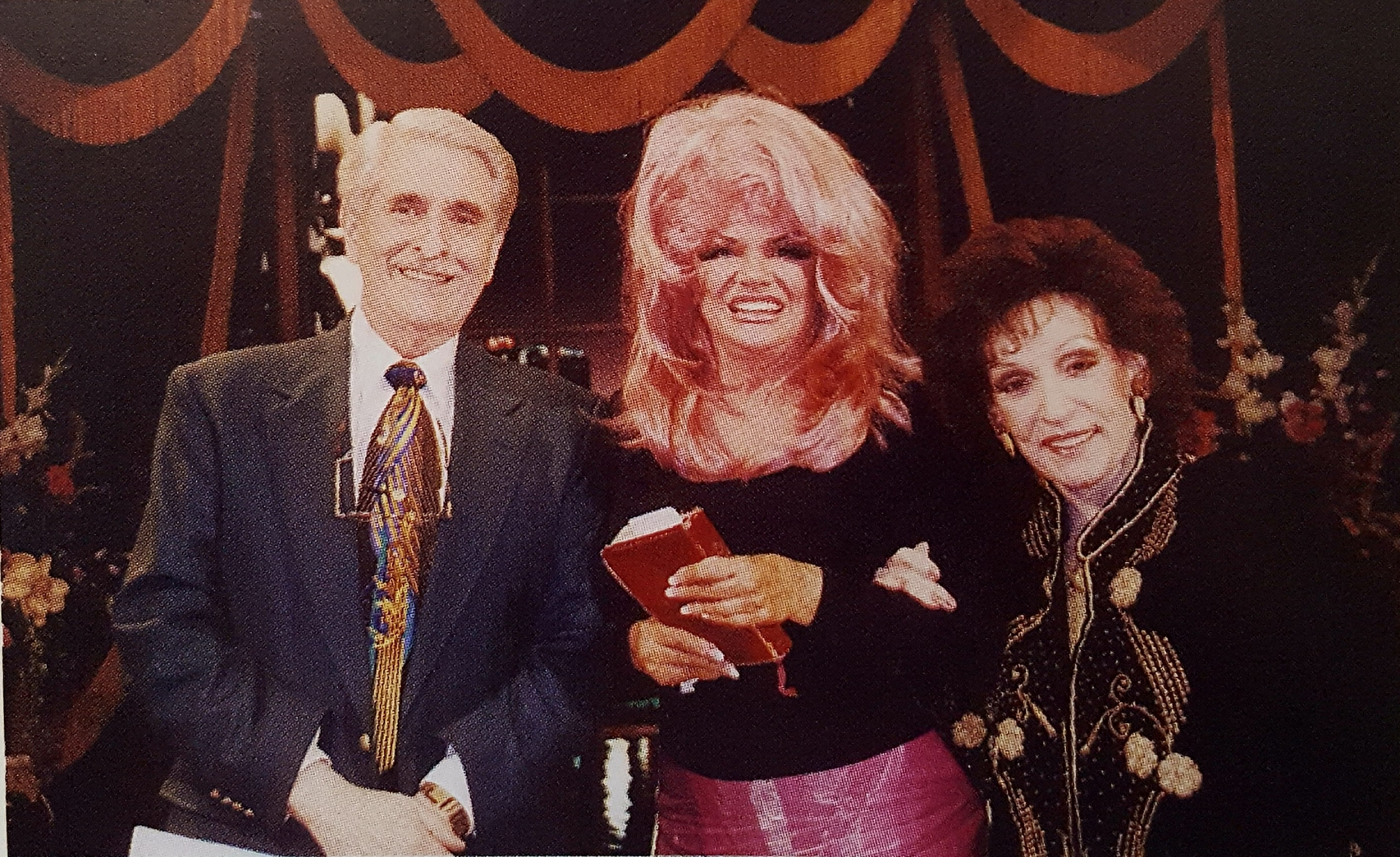 Dottie with Paul & Jan Crouch 1990s