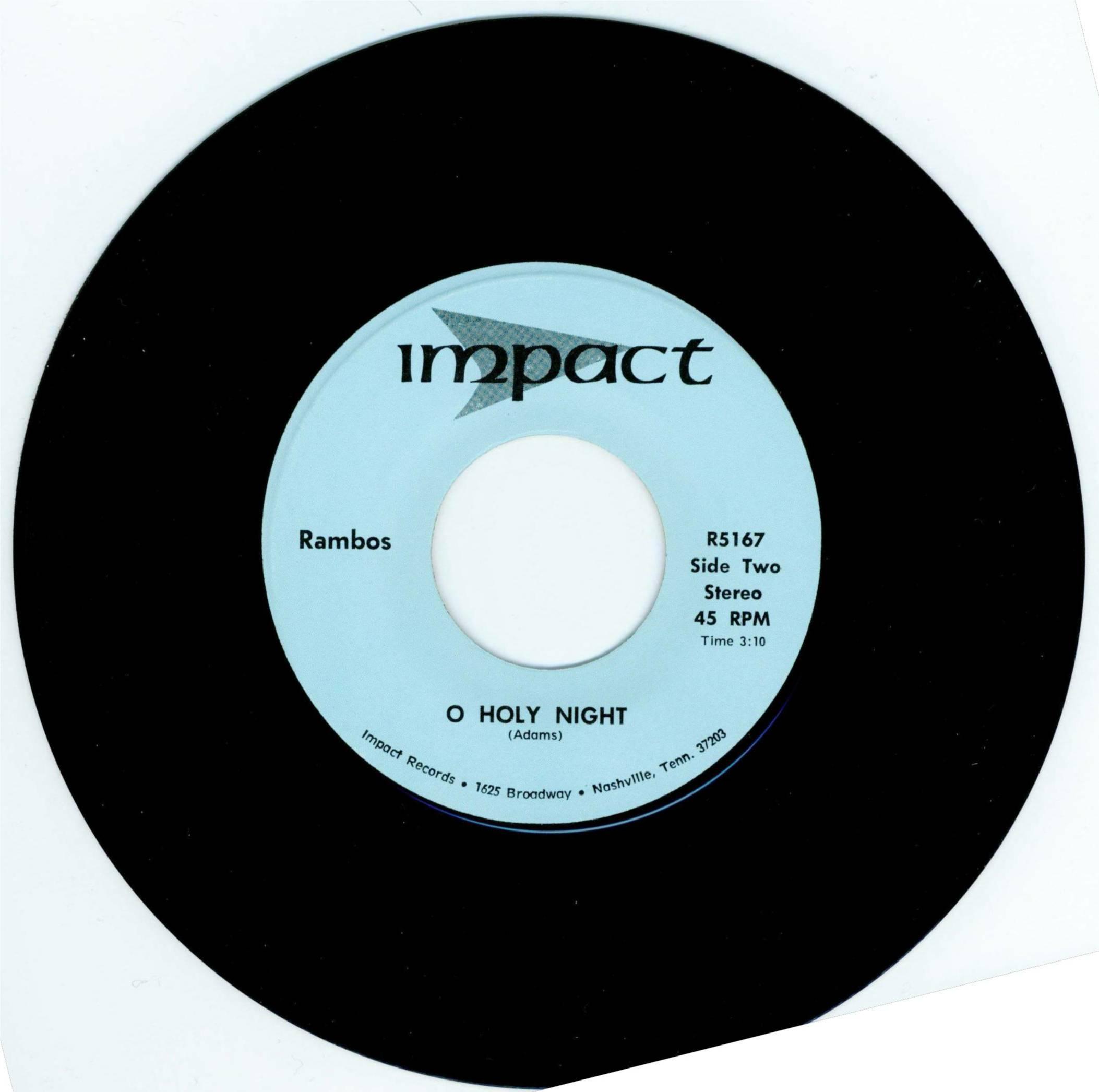 O Holy Night  45 Single 1974