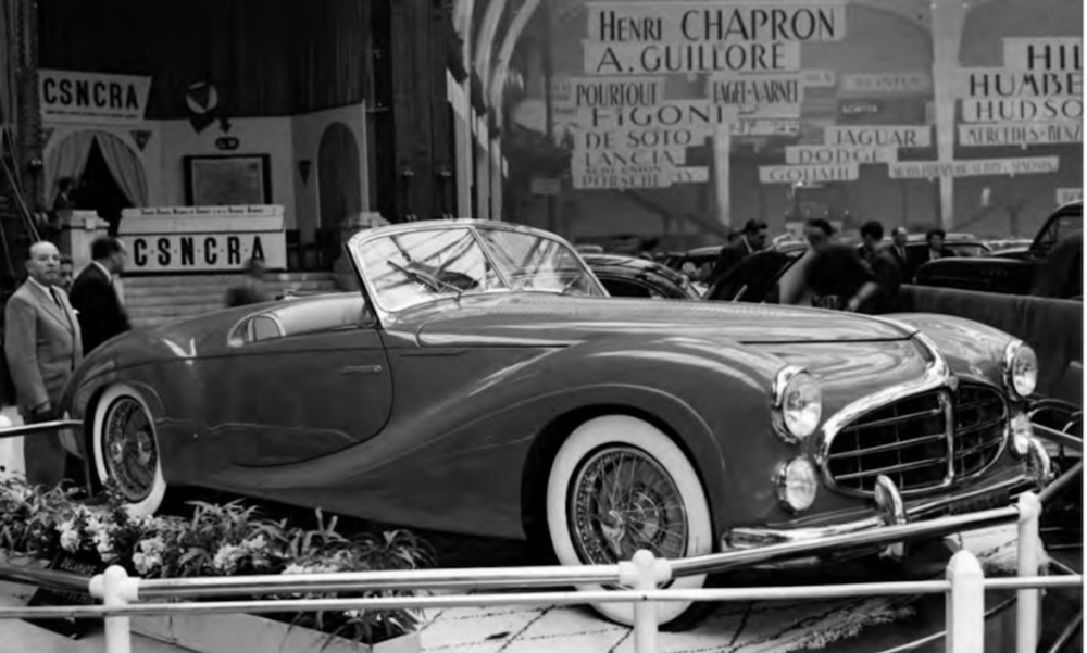 (1951) Delahaye 235 Chassis 818005