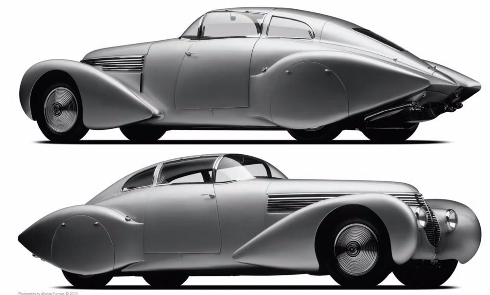 (1938) Hispano Suiza H6C Dubonnet Xenia Streamliner