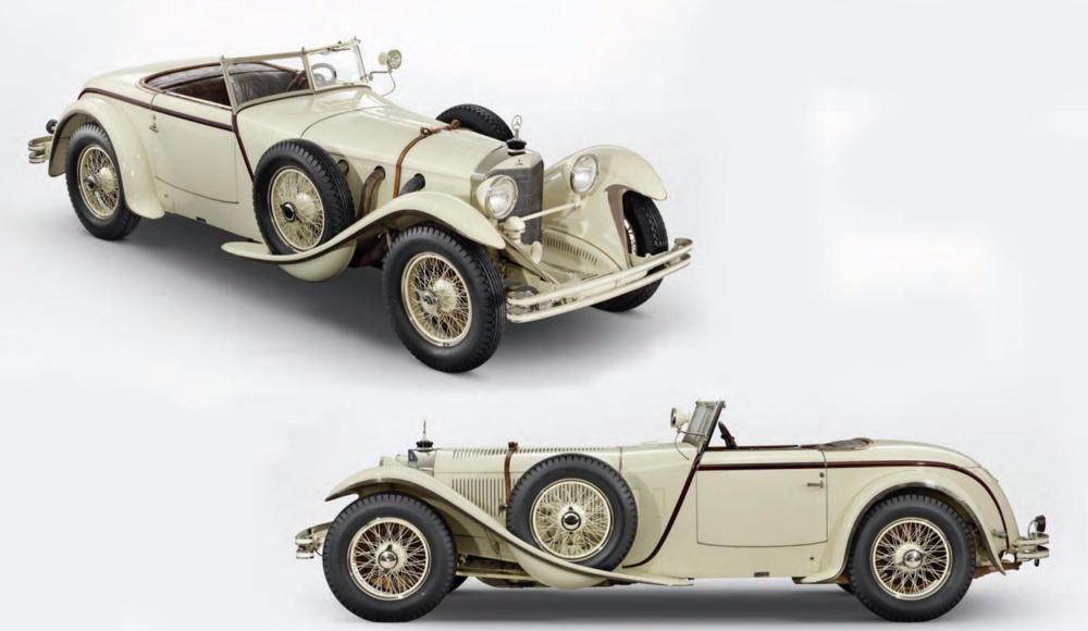 (1927) Mercedes Benz 680S Torpedo