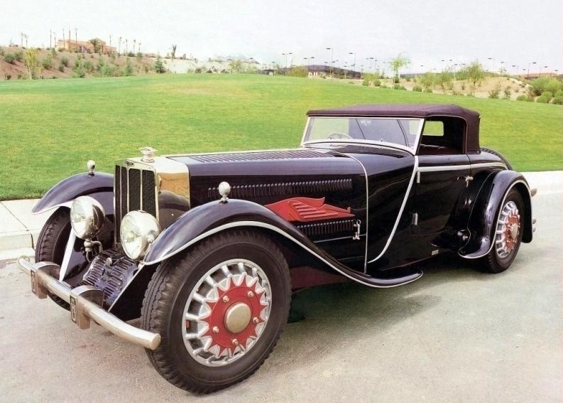 (1929) Bucciali TAV 8 Roadster, 1929