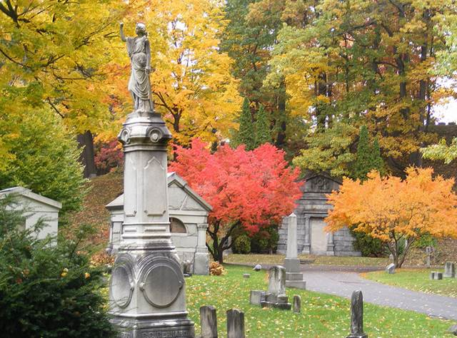Mount Hope Cemetery, Rochester  Courtesy:  Anne Supsic's Blog