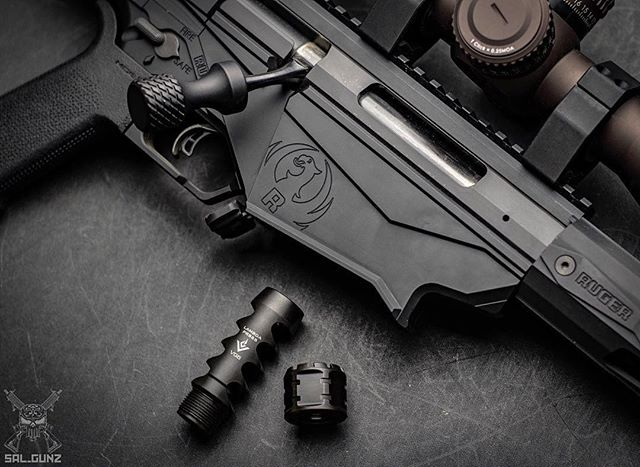 That bolt knob though! 😉. Fantastic pic by #Repost @sal_gunz ・・・ Just got in the new @vg6precision LAMBDA PRS65 precision rifle shooting muzzle brake for 6.5 Creedmoor. I'm loving the two-piece design consisting of the LAMBDA muzzle brake and the jam nut, for a simple tool-less installation. ・・・ #vg6precision #aeroprecision #65creedmoor #igmilitia #pewpewpew #merica