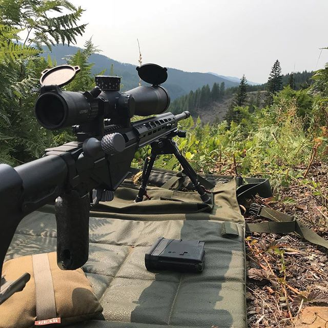 Anyone getting out this weekend for some practice?  #Repost @fmjmarketing ・・・ Snuck out to the happy place before it got too hot this week. #rpr #rugerprecisionrifle #precisionrifle #rifle #2a #shooting