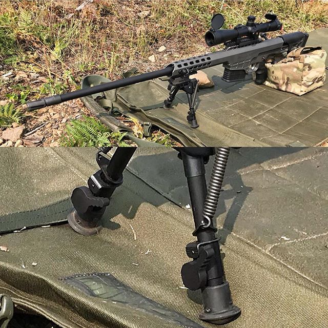 @barrettfirearms MRAD Out in the wild with our crazy cool Leg Locking Levers on the Bipod. 👍🏻#longrangeshooting #longrange #precisionrifle #300winmag #rifle #2a #gun