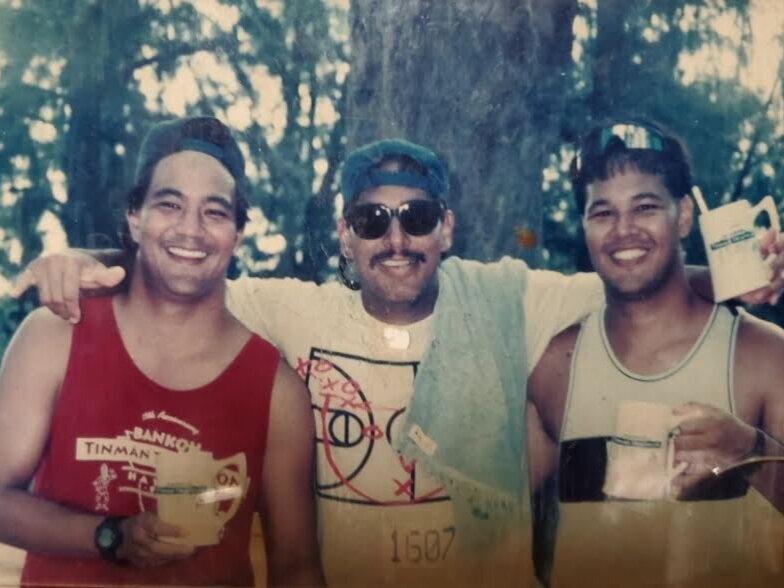 Ross Richards, Duke Aiona, Reid Richards (1995)