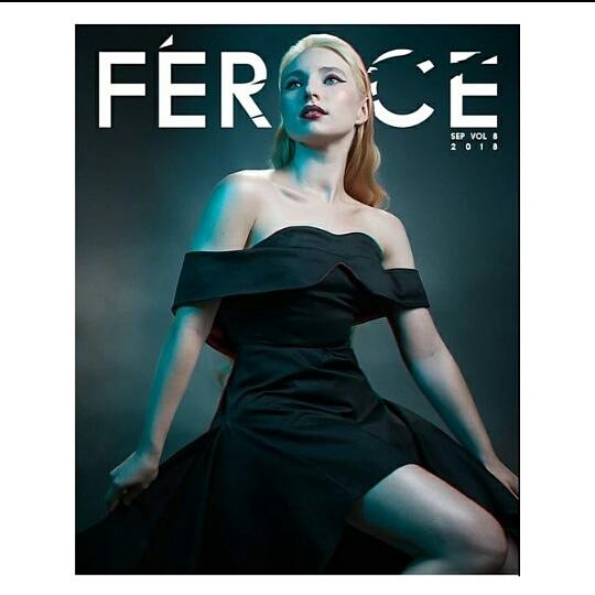 Féroce UK: - Model/Stylist: Vanessa KiralyPhotographer: Onedog studiosHair/Makeup: SS Glam StudiosDress: 83 Studio