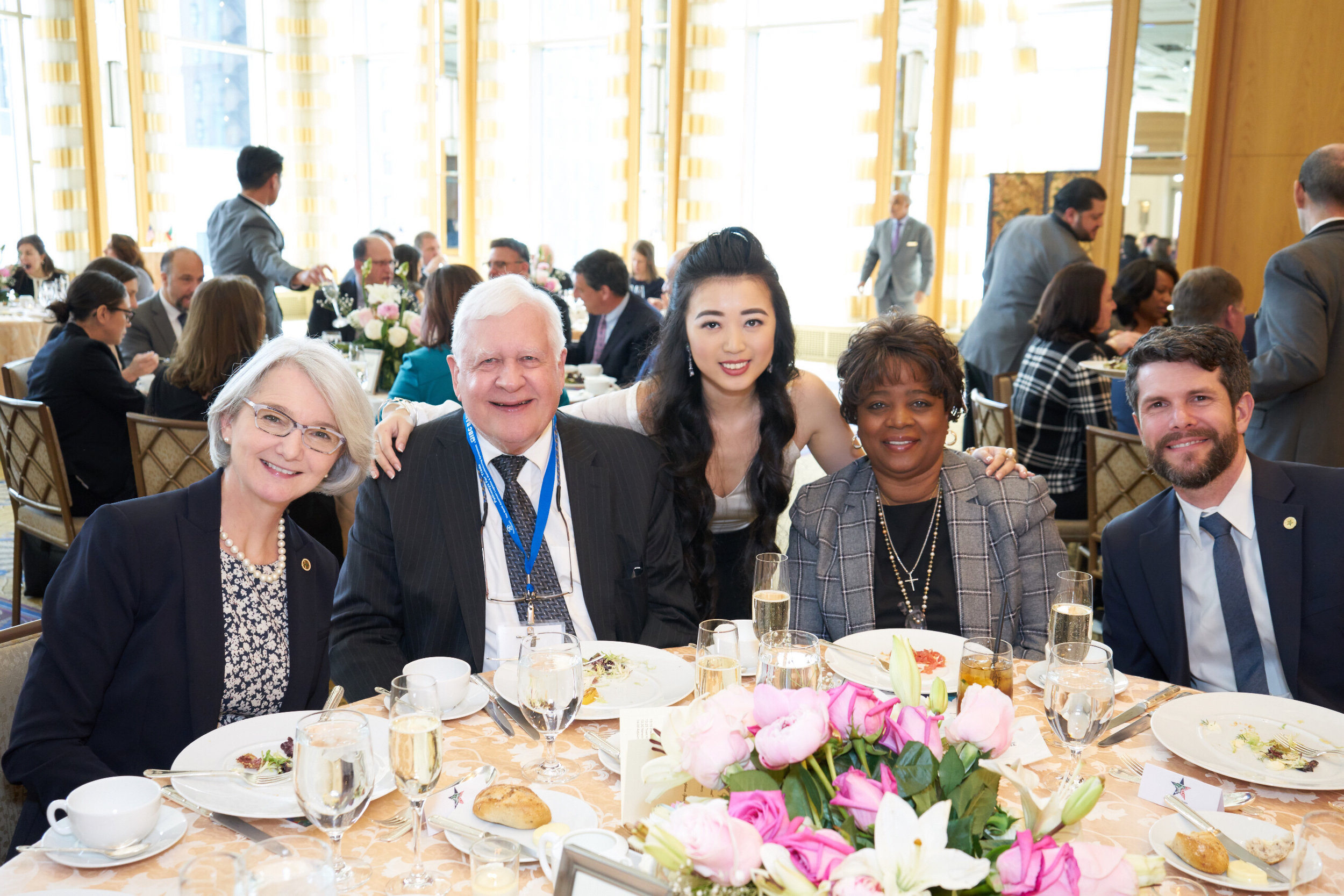 Regine Corrado, Ralph Biedermann, Elizabeth Jia, Robin Brown of Ingredion, and Christopher Wilson