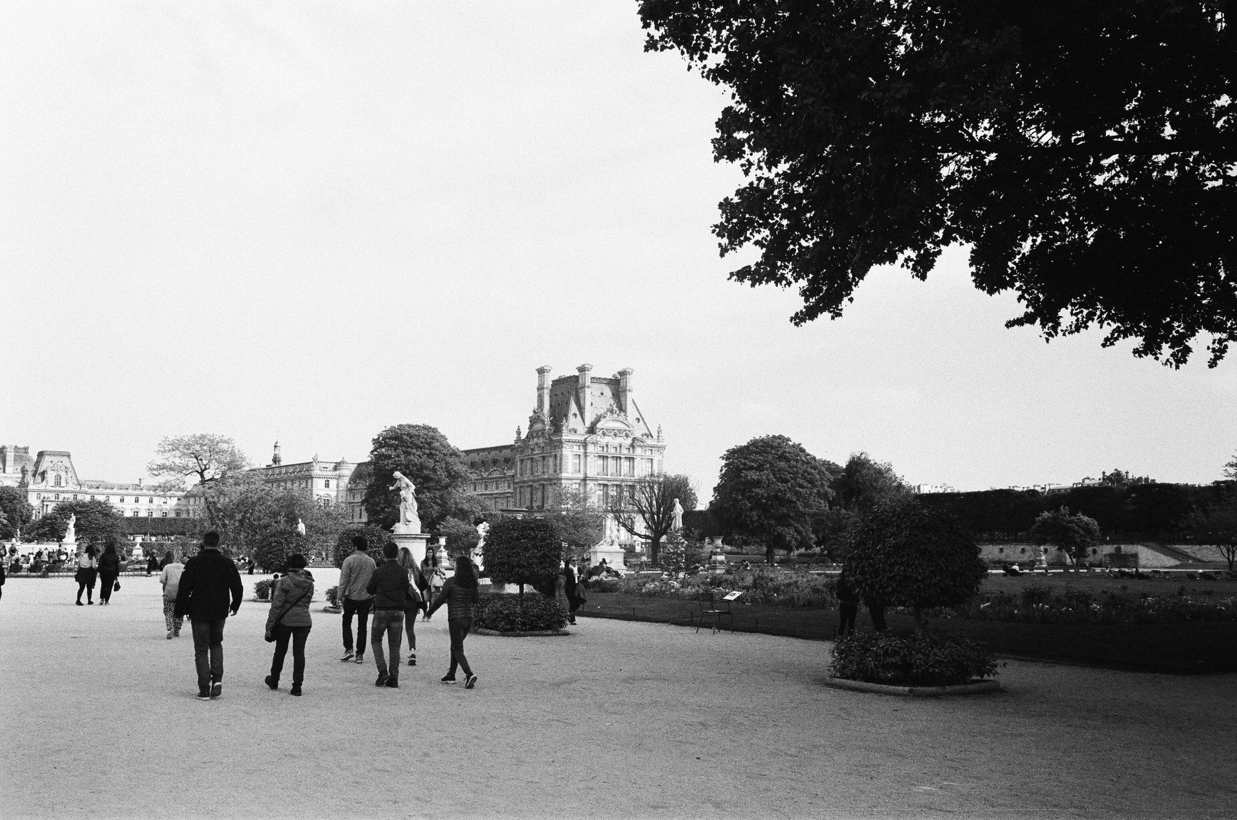 The Lourve in Paris, France