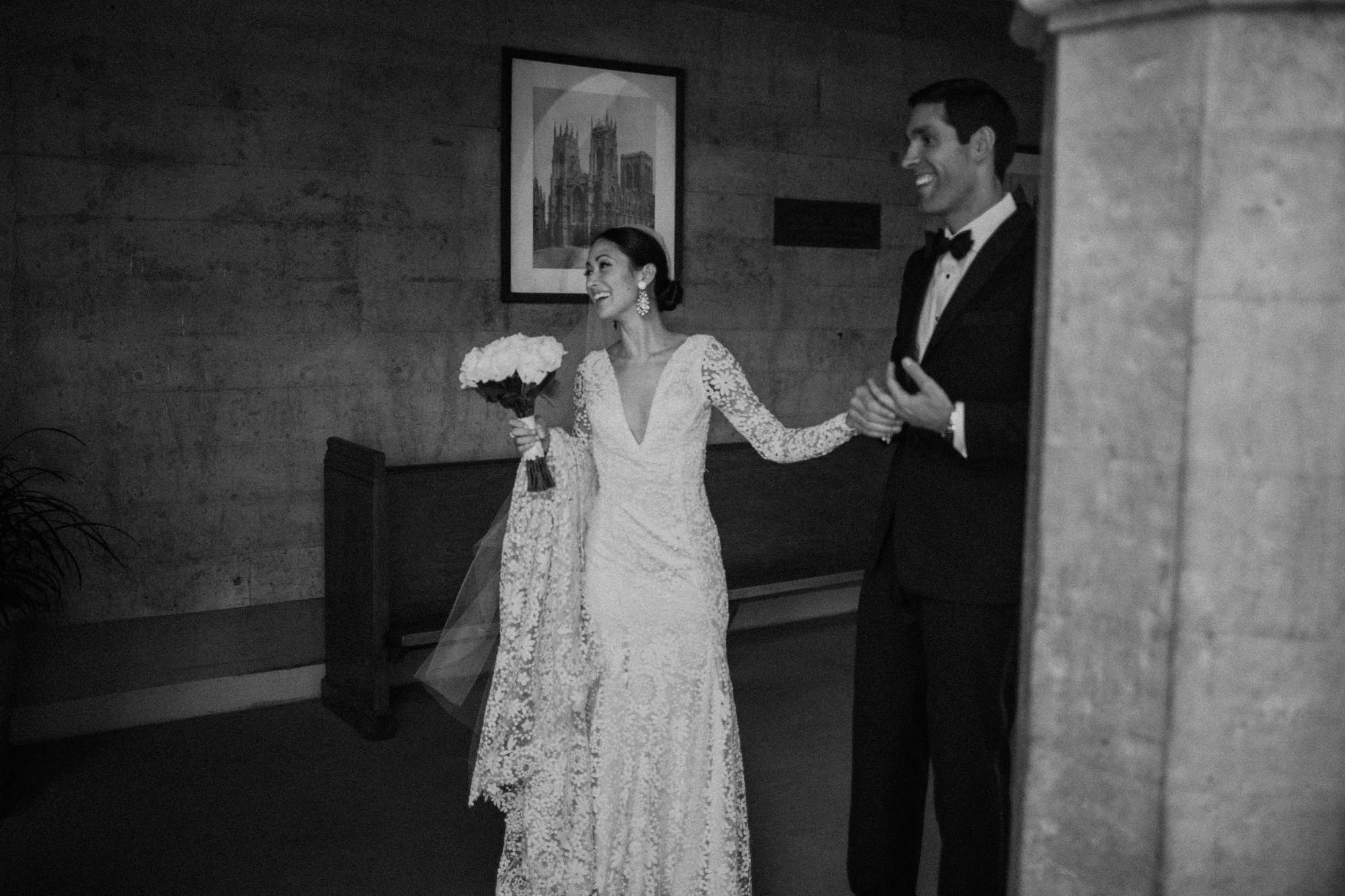 wedding day in LA