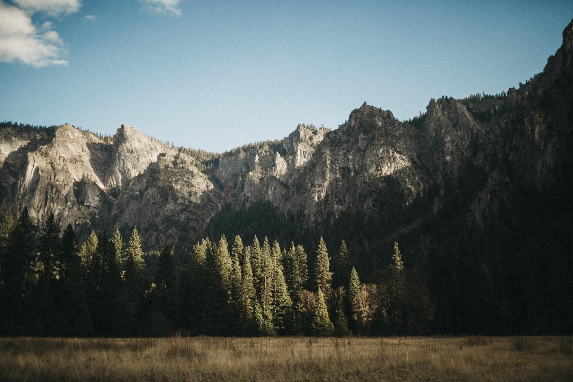 Valley floor of Yosemite