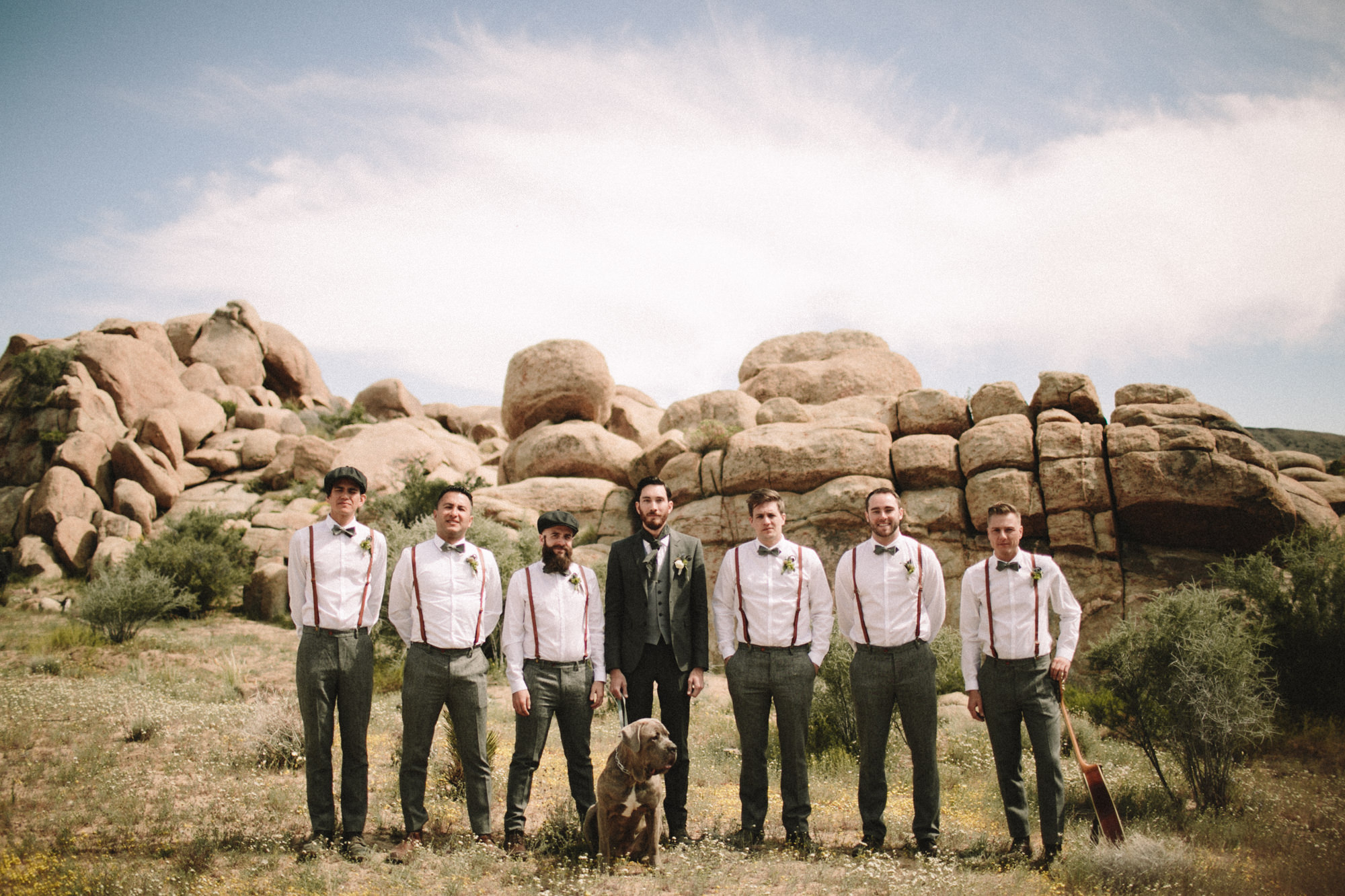 groomsmen portrait photos