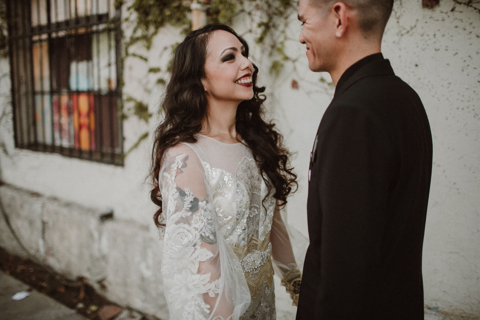 urban los angeles wedding