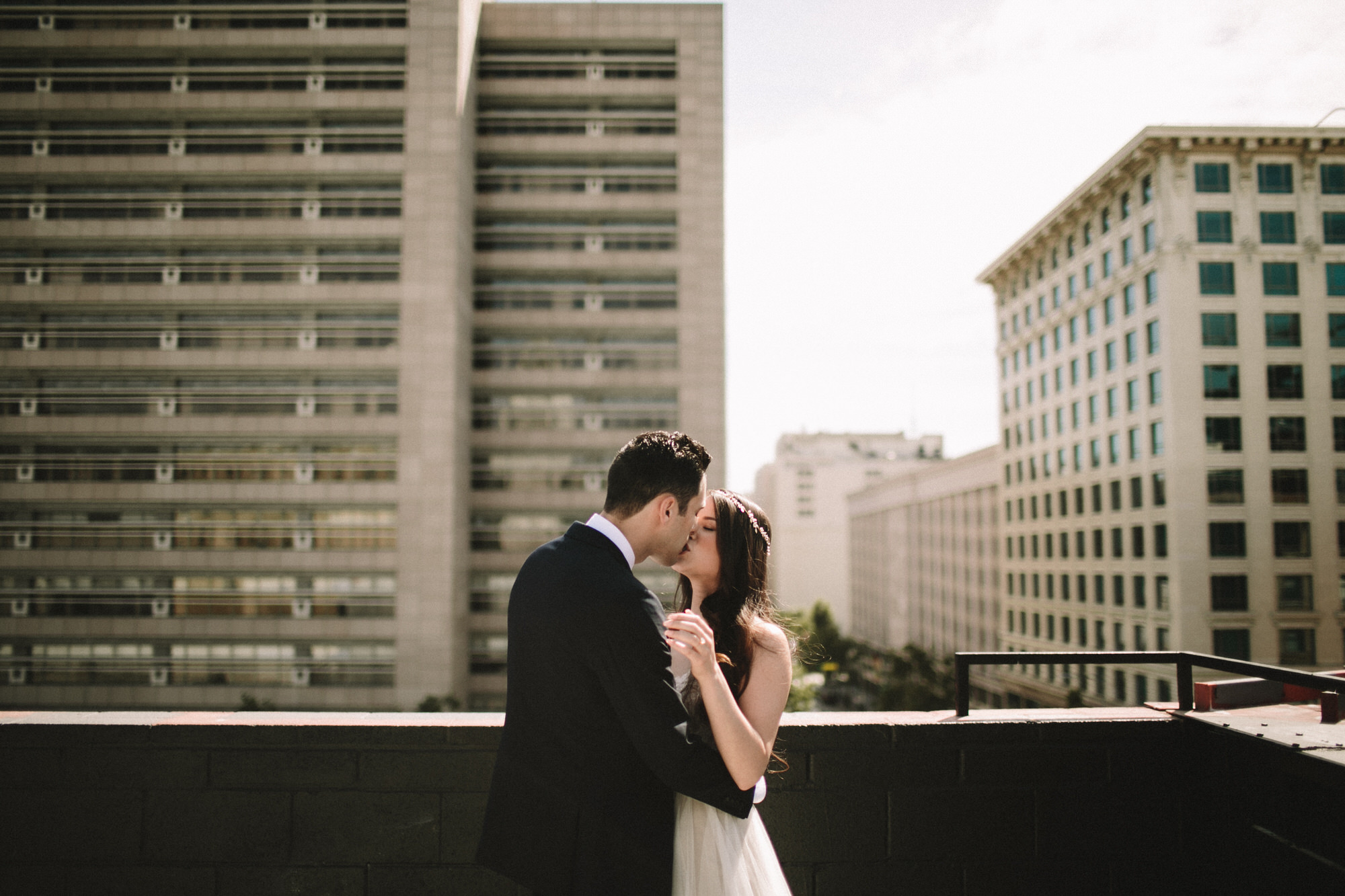 wedding in downtown los angeles