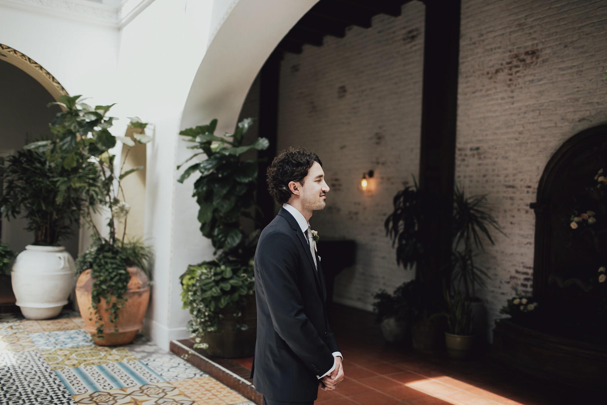 ken awaiting his bride