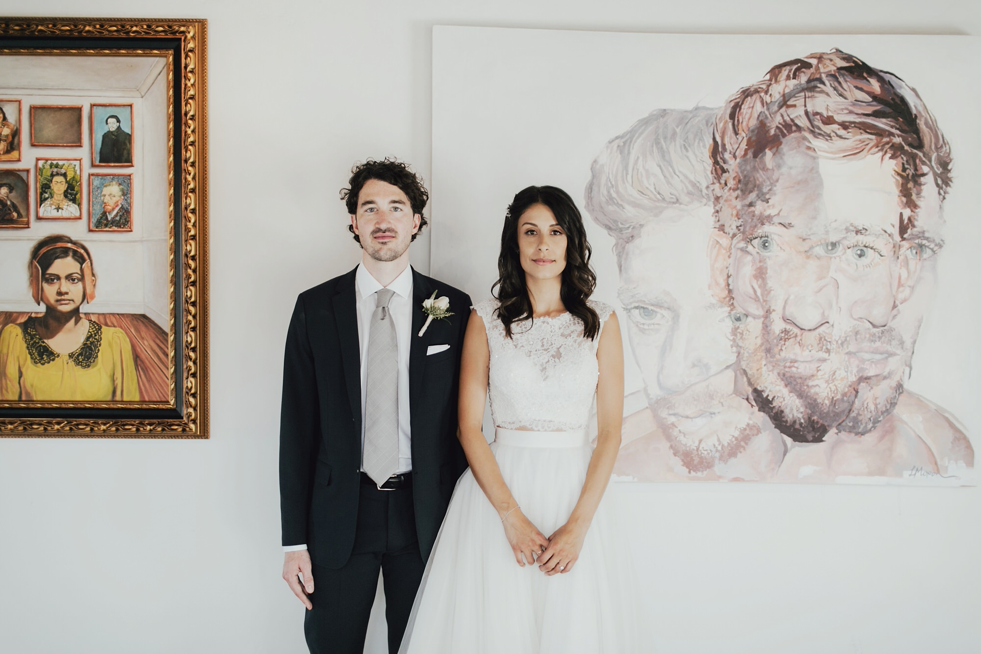 couple portraits at the ebell in long beach