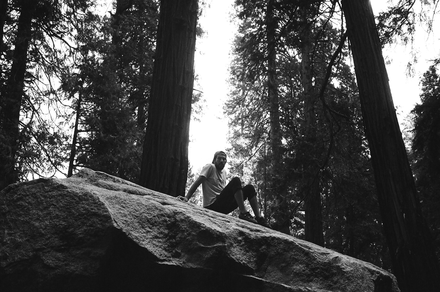 bouldering in camp 4 yosemite valley