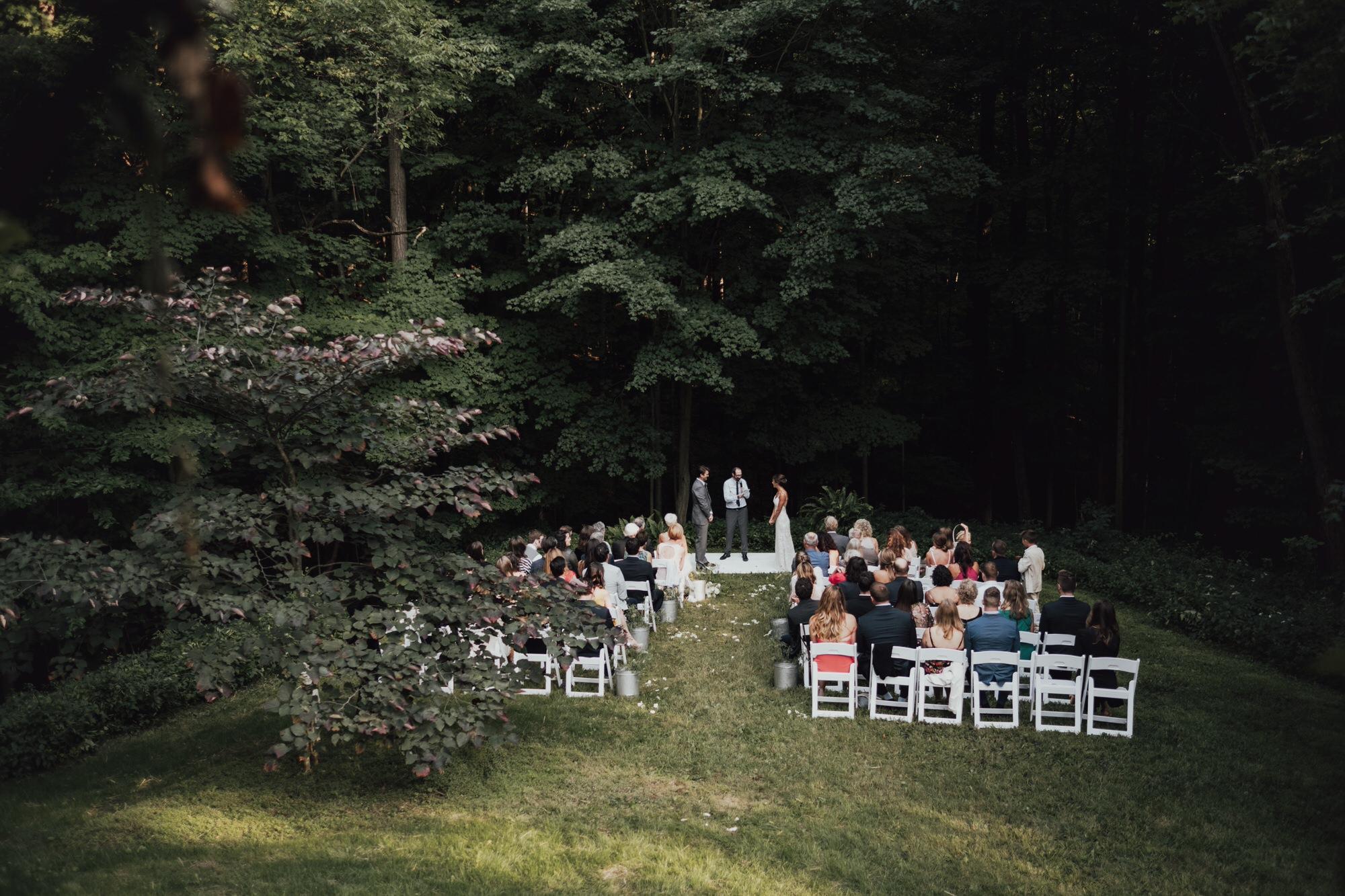 romantic ceremony location in new york