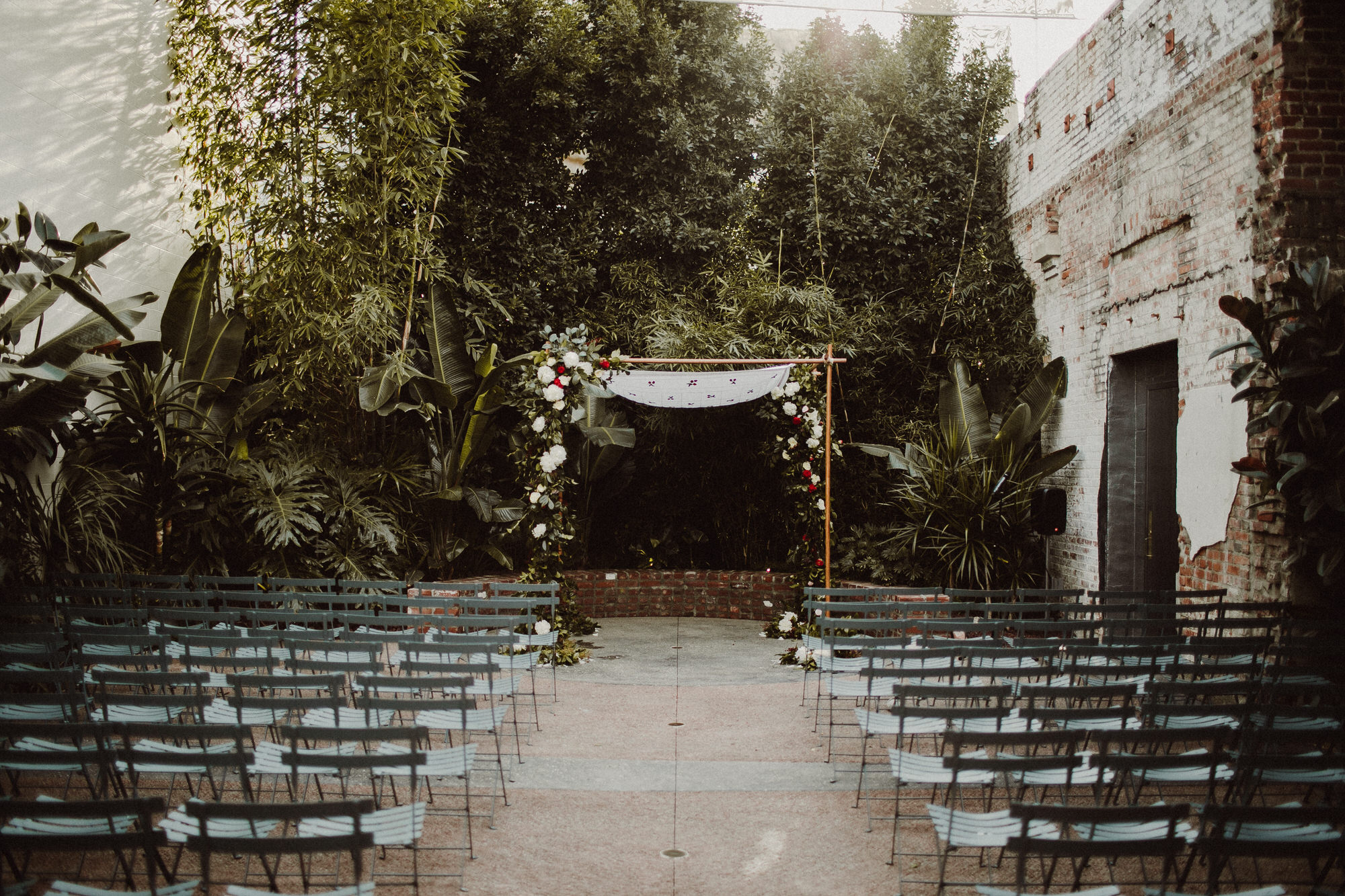 ceremony location at the millwick los angeles