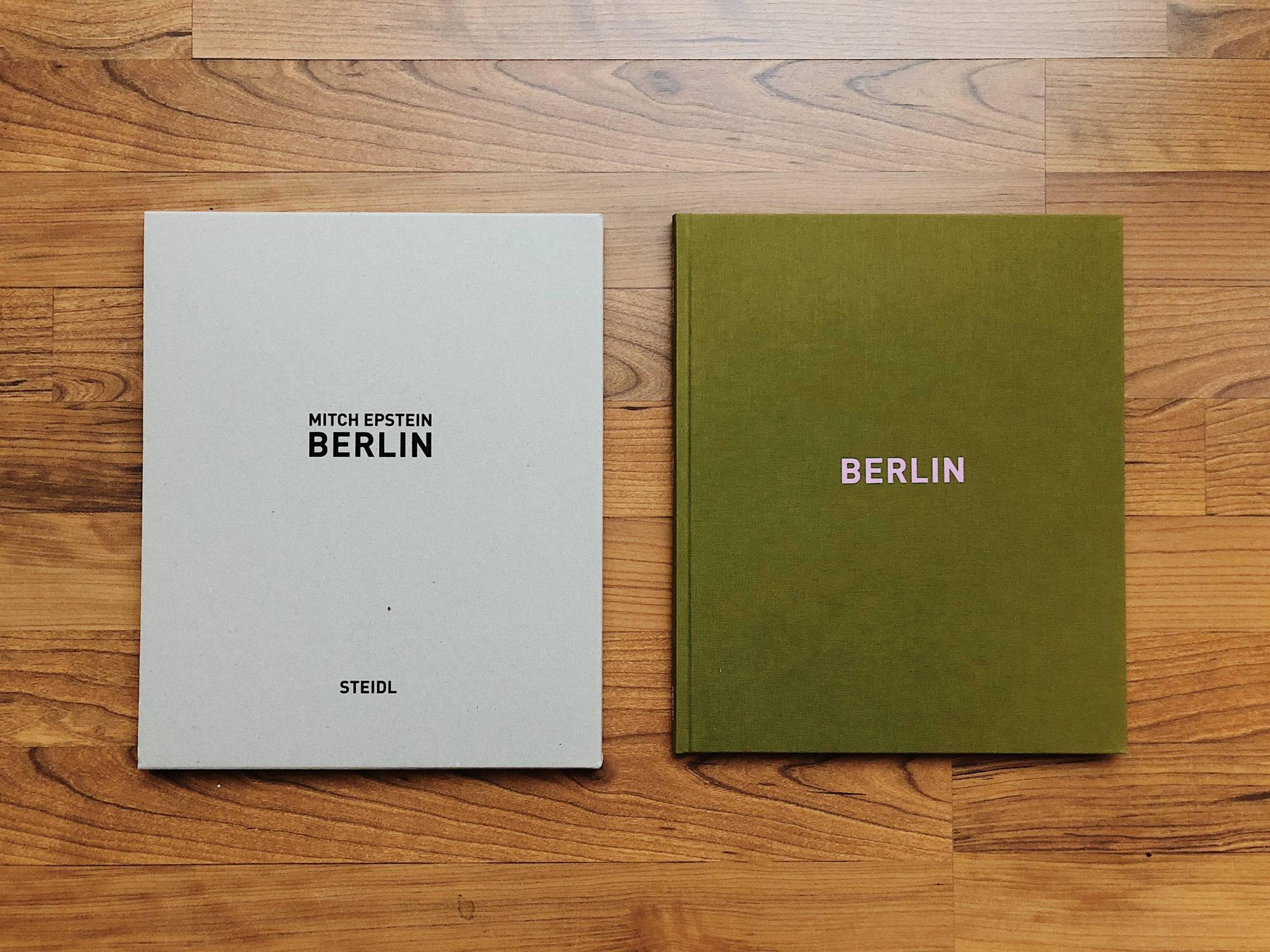 Mitch Epstein Berlin in Cardboard Sleeve