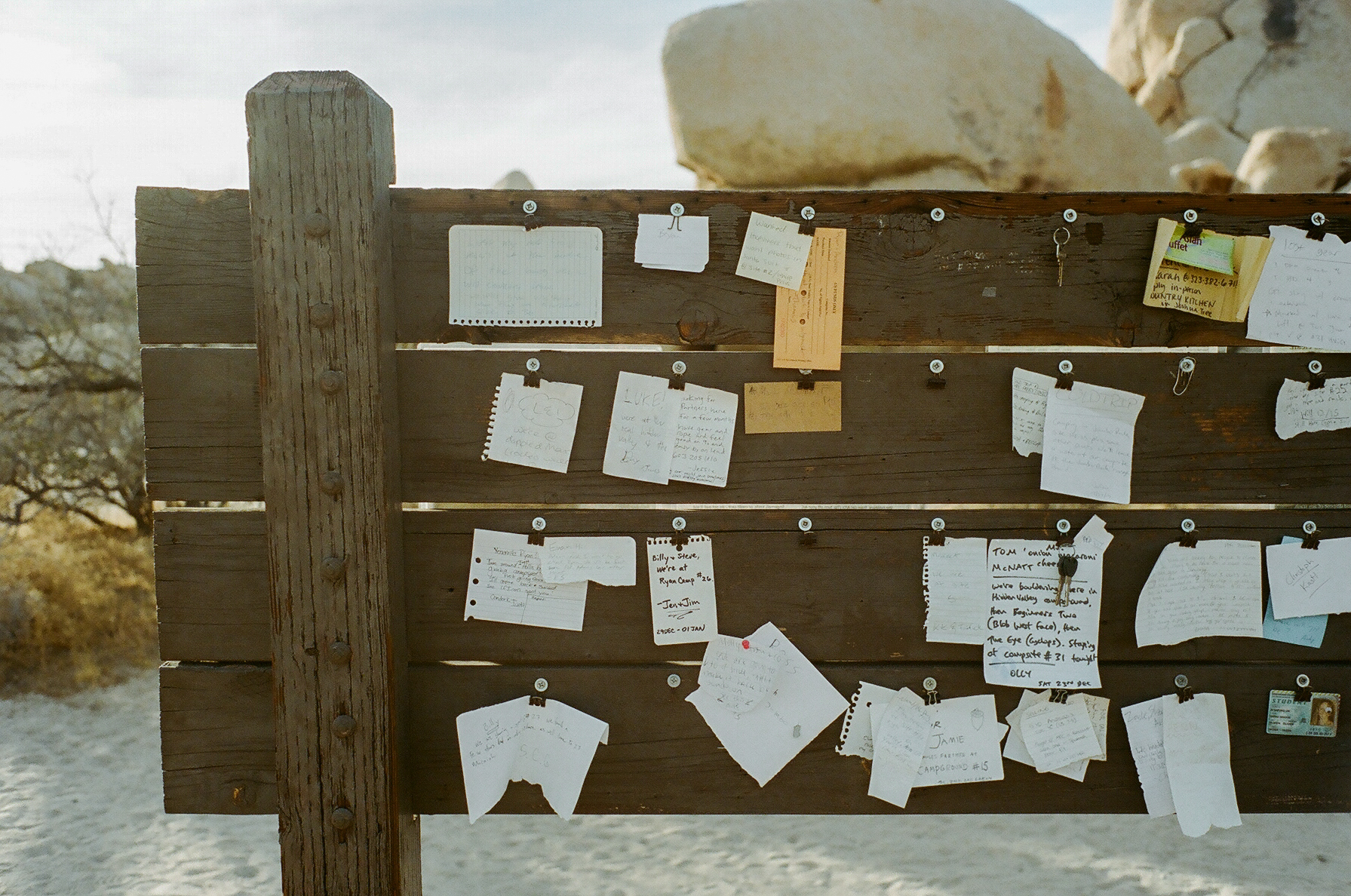 Climbers Notes by Intersection Rock