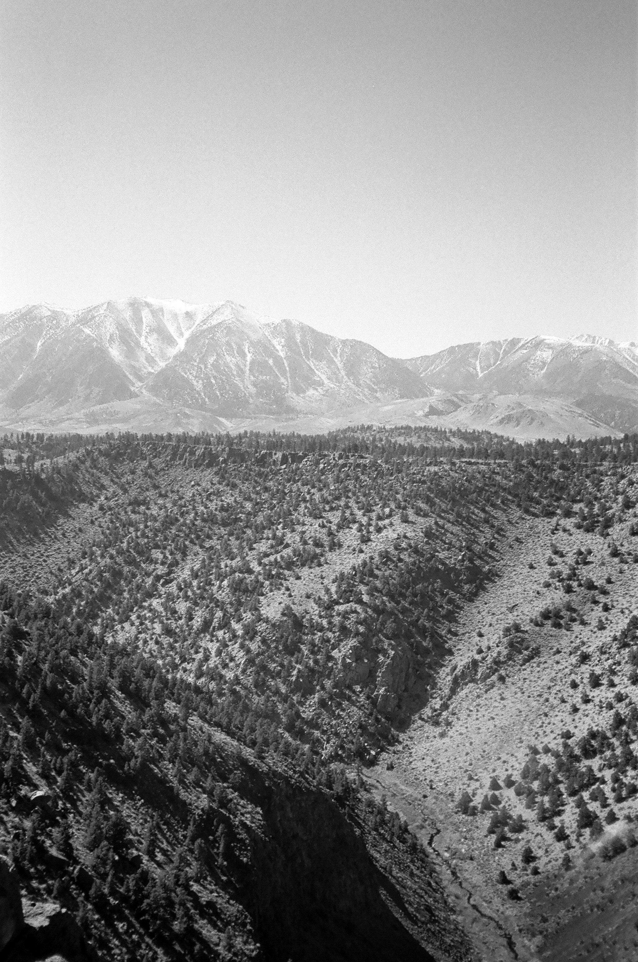 Owens River Gorge from the top