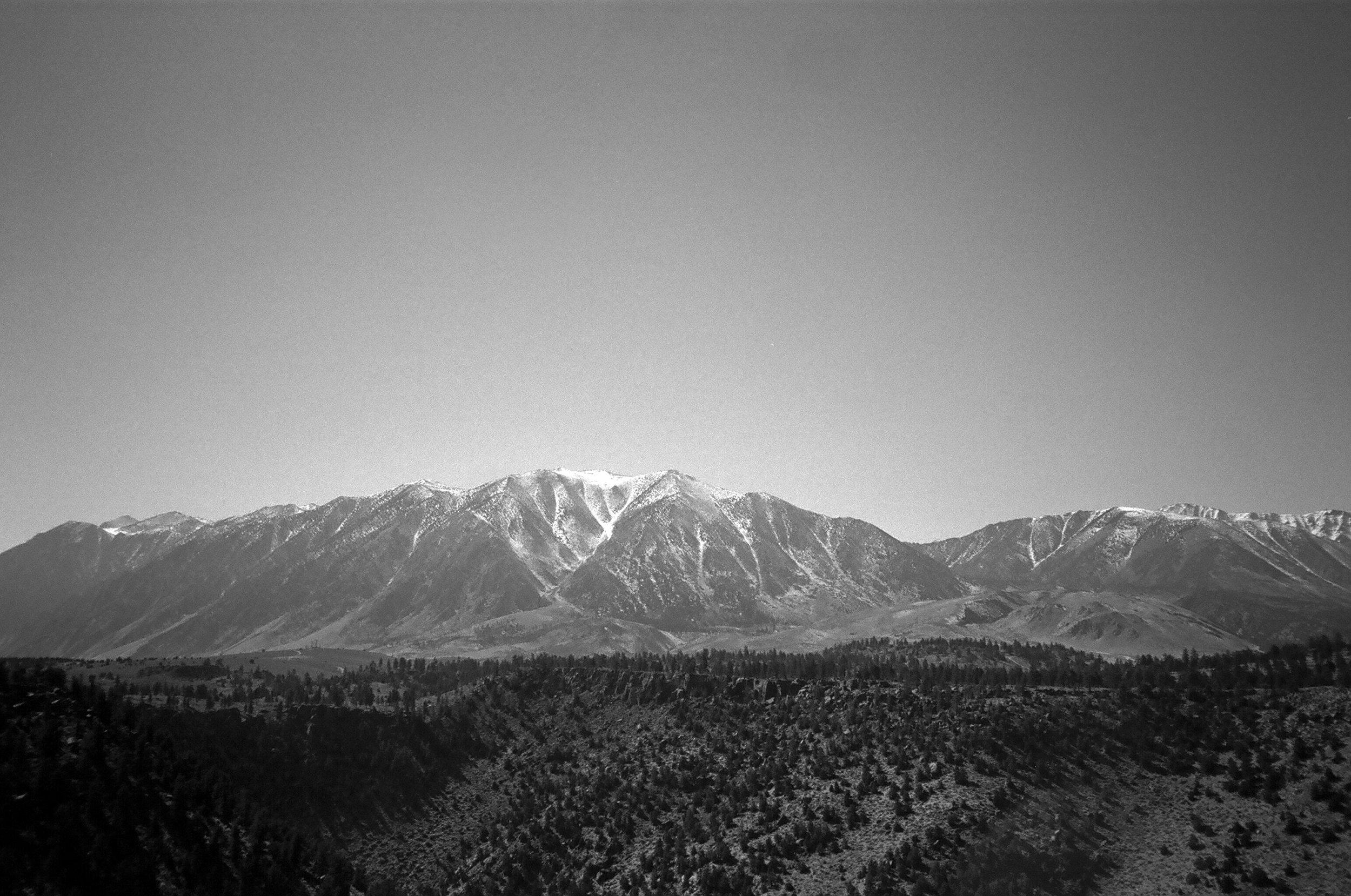 the easter Sierras