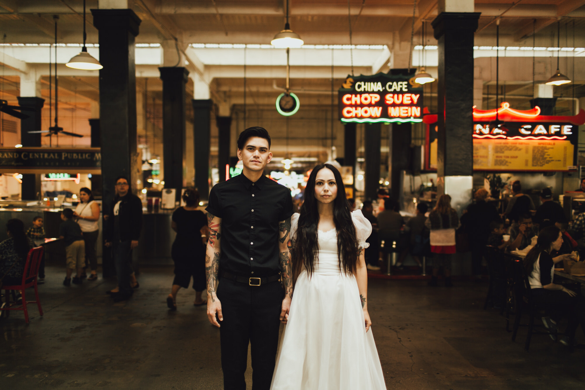 Grand Central Station engagement shoot