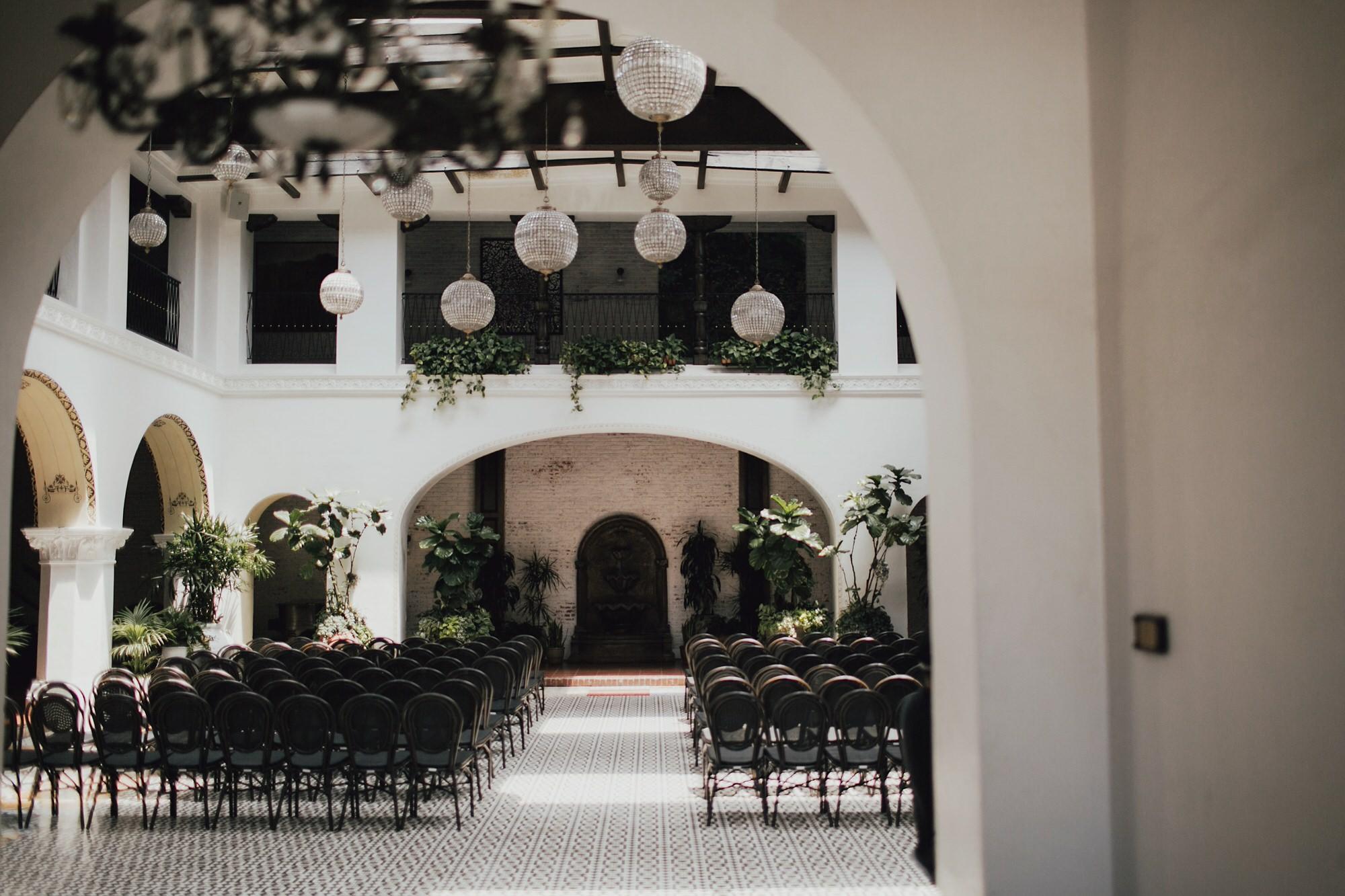 Ebell Long Beach Wedding ceremony