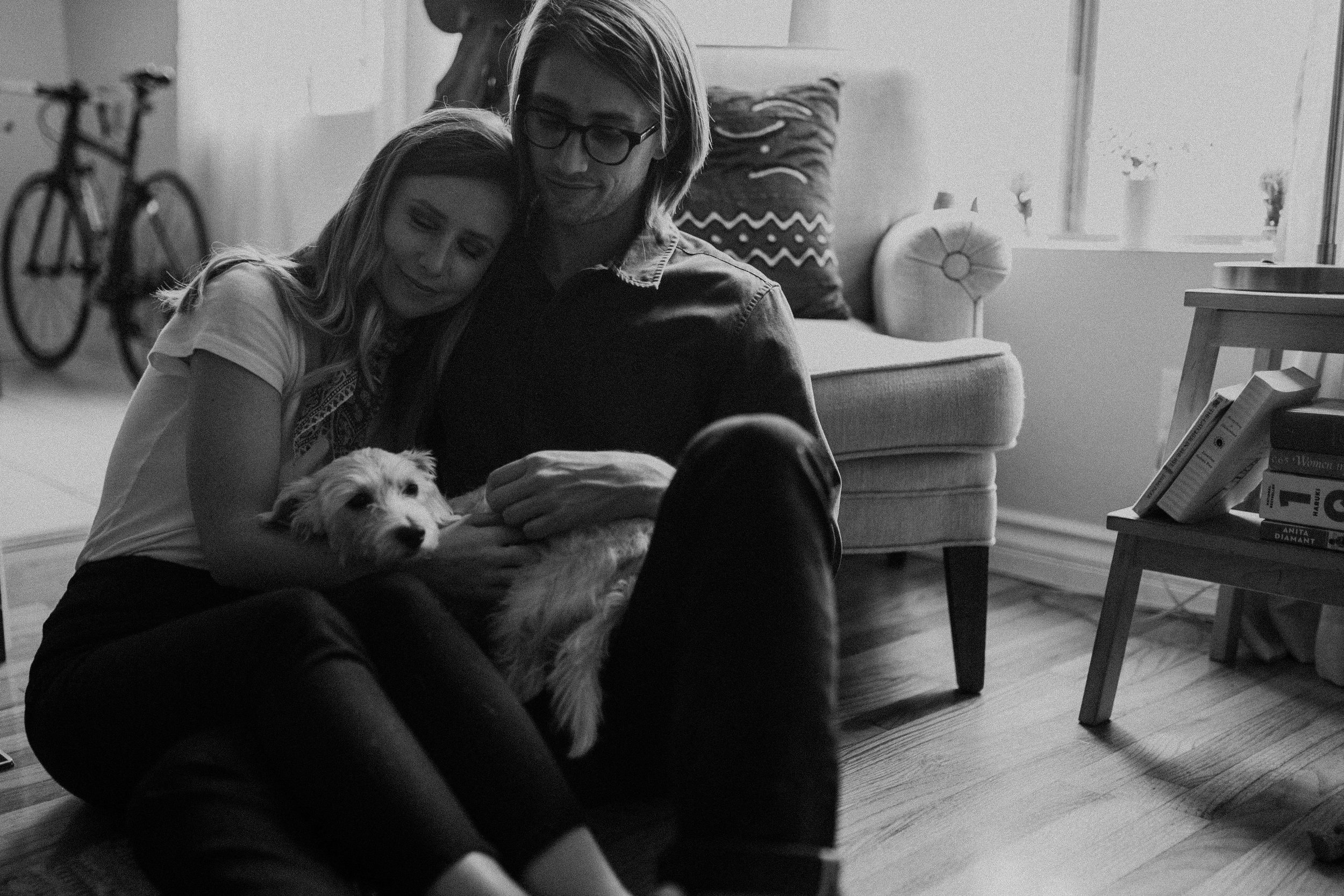 whitney and ralph in their santa monica home