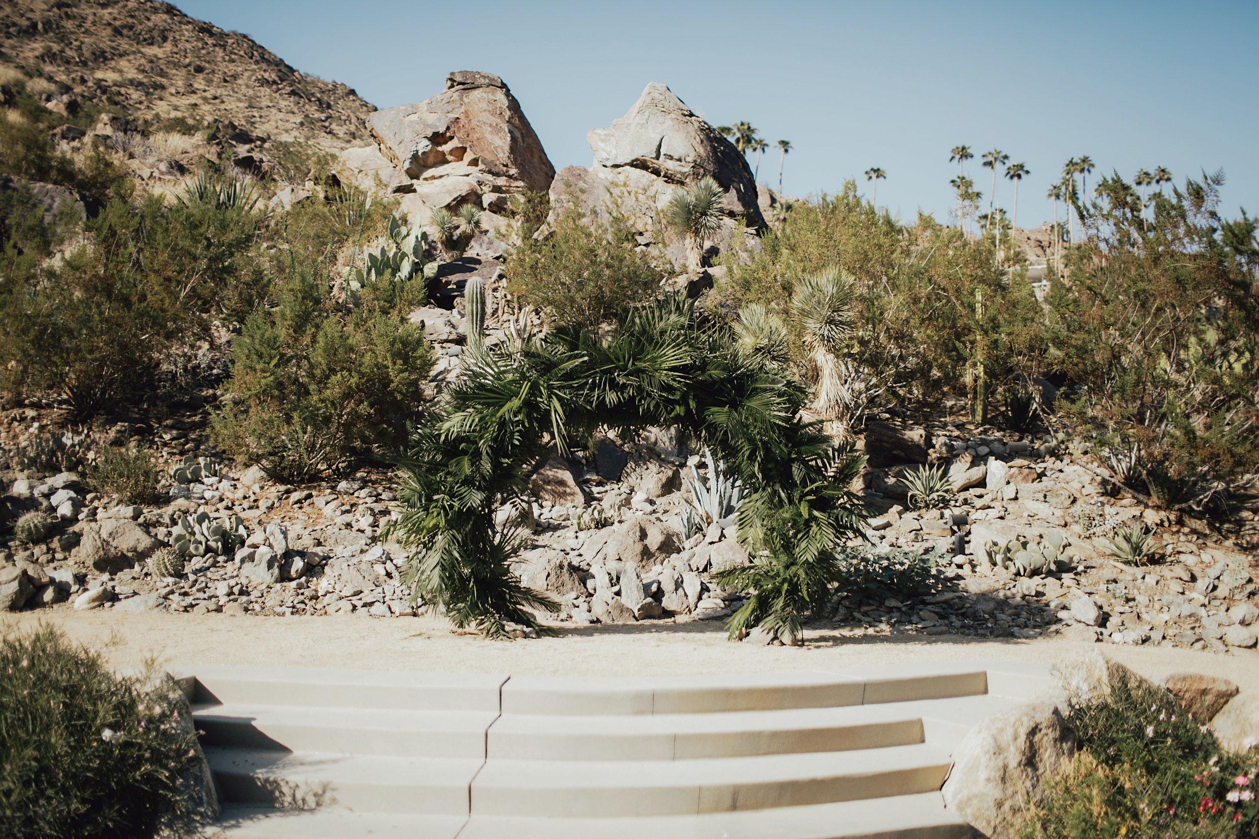 desert ceremony location in palm springs