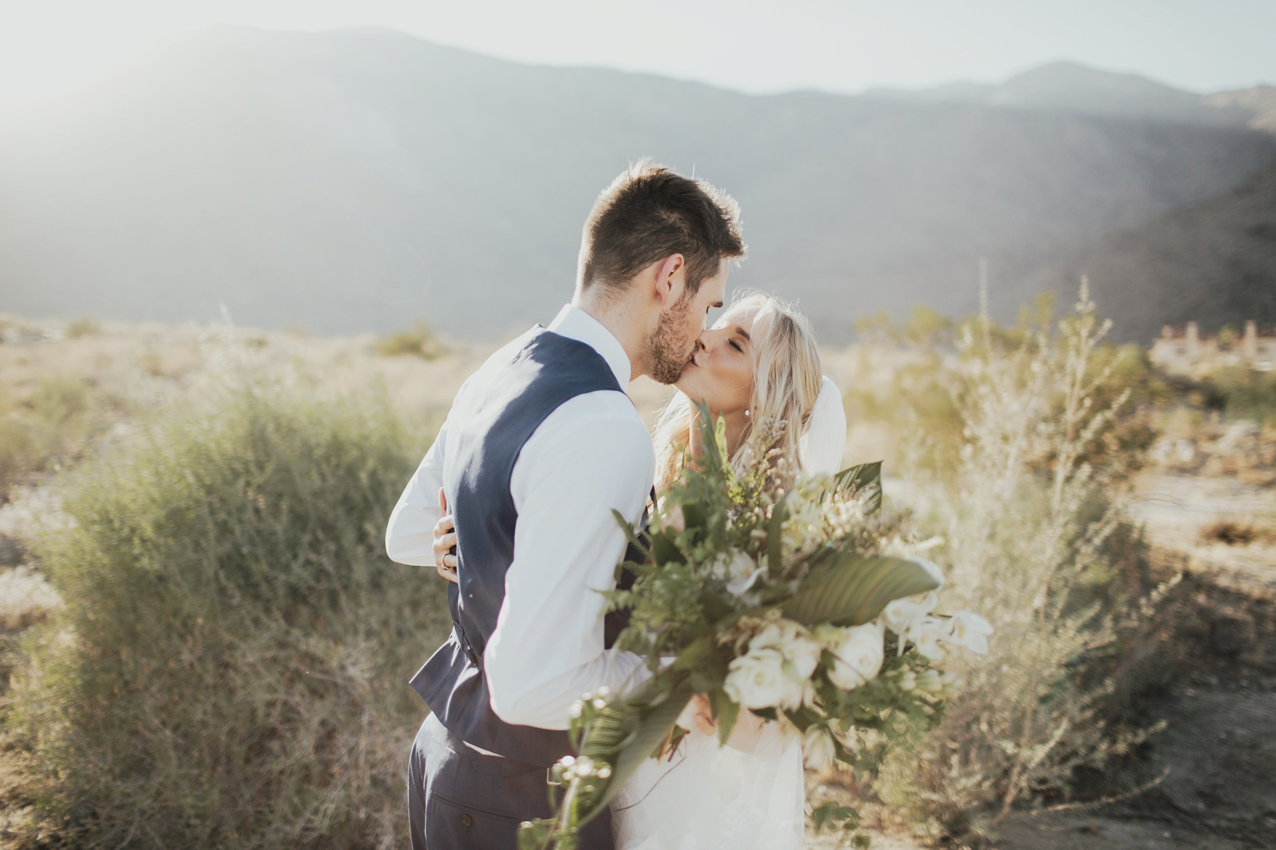 portrait wedding photography in palm springs