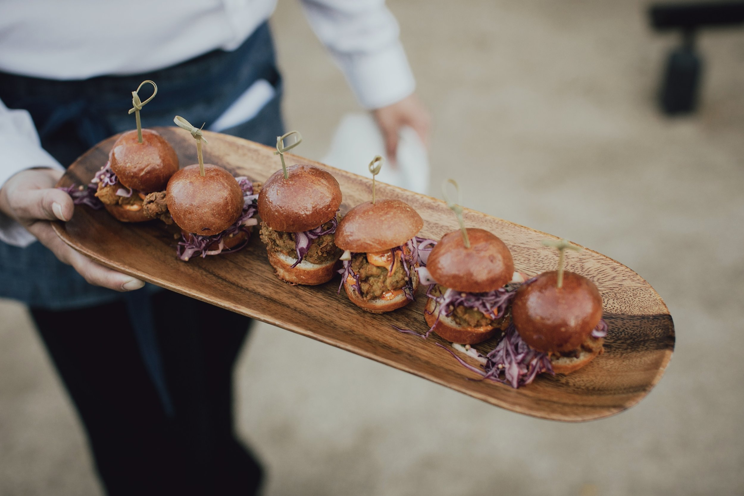 appetizers for wedding reception guests