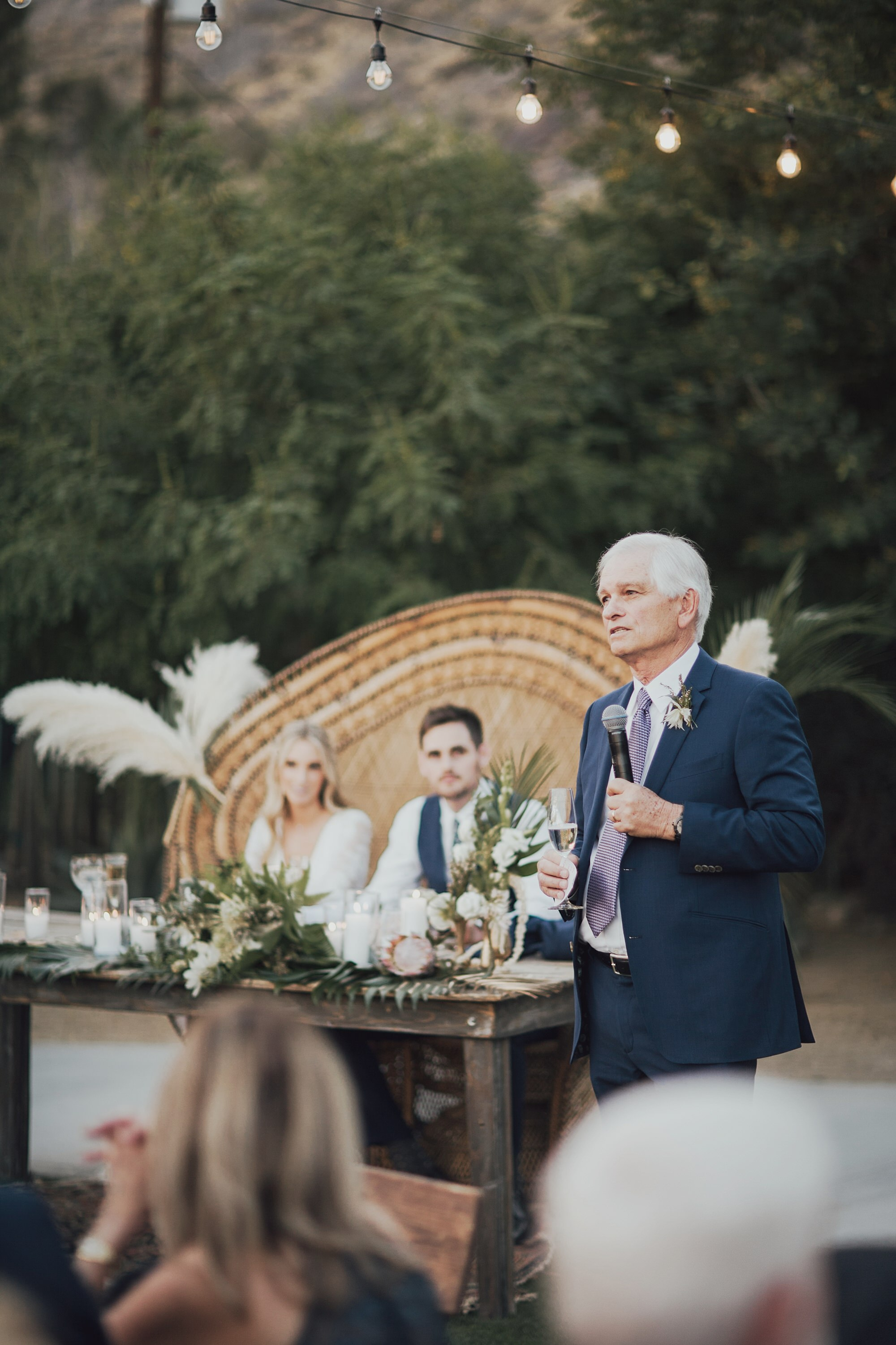 first toast by the father of the bride